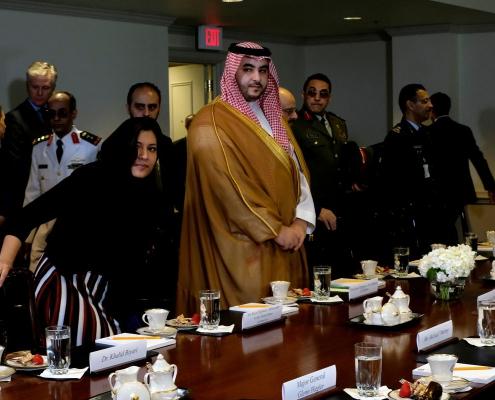 Saudi official in U.S. for talks on Yemen, Iran, Khashoggi