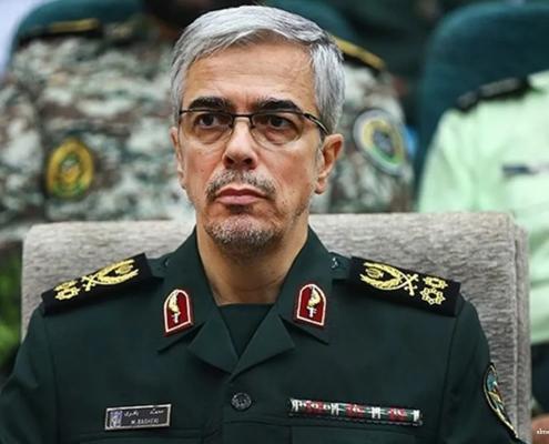 Iran's Top Commander Demands Closure Of US Base In Northern Iraq