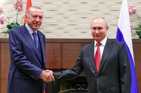 Putin Erdogan sit down for talks on war torn Syria