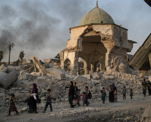 Death and suffering in Iraq a painful legacy of 9/11 attacks