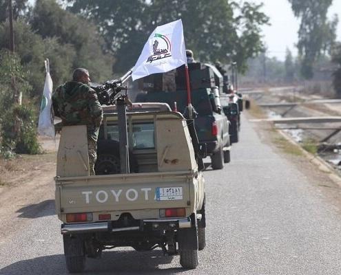 Hashd al-Sha'abi convoy attacked near Iraq-Syria border; US denies involvement